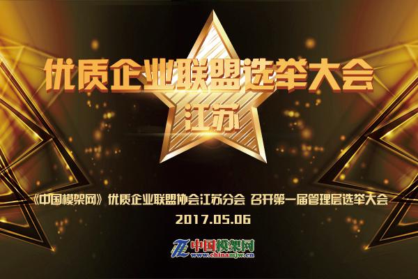 《中国模架网》优质企业联盟协会江苏分会 召开第一届选举大会! ()