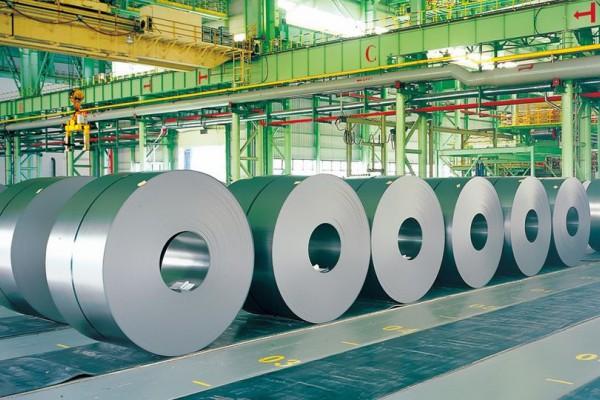 5月江苏省粗钢、钢材产量同比下降 ()